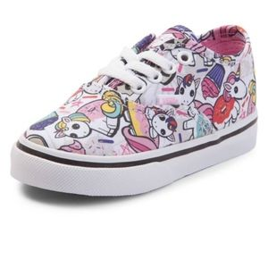 Vans Authentic Lace Up Donut Unicorn Skate Shoe